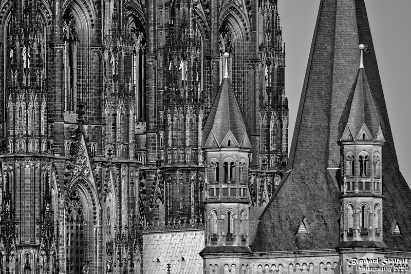 St. Martin and Cologne Cathedral - Bernhard Saalfeld